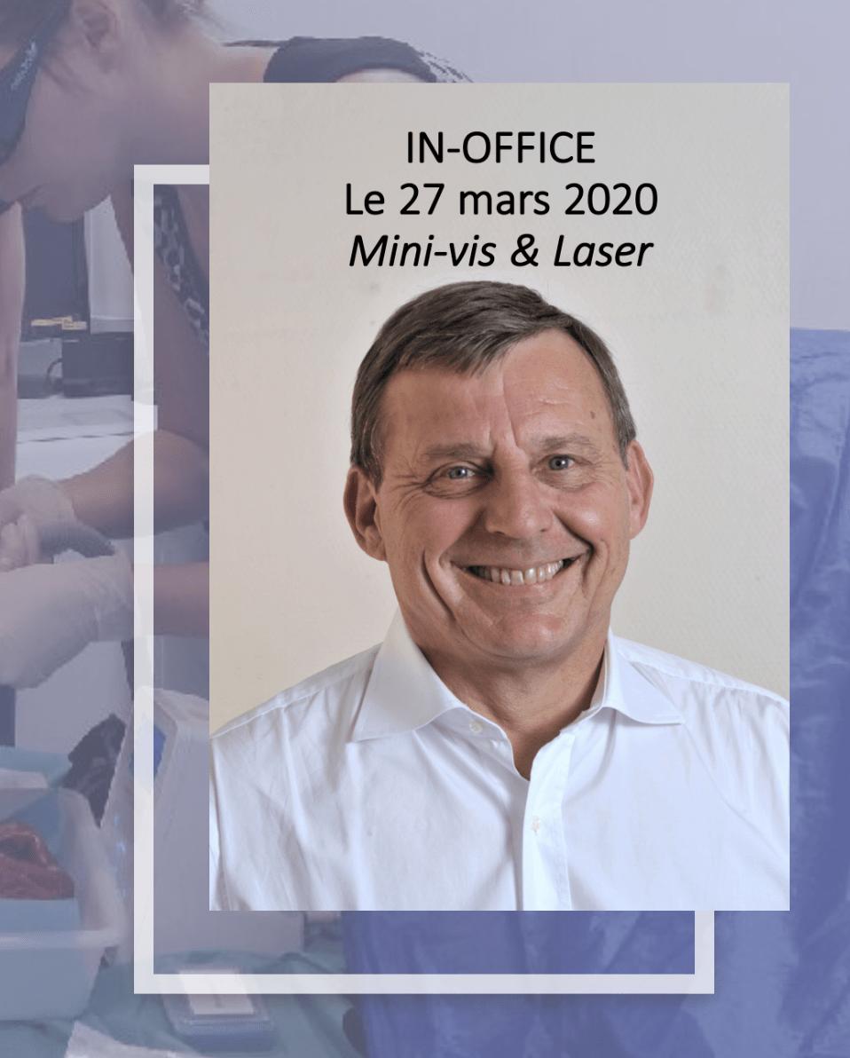 Mini-vis et Laser