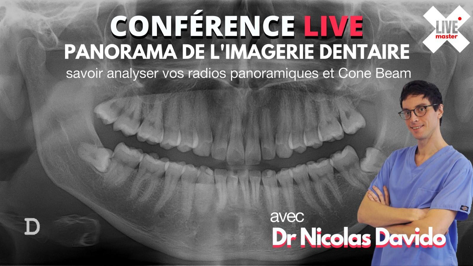 Panorama de l'imagerie dentaire