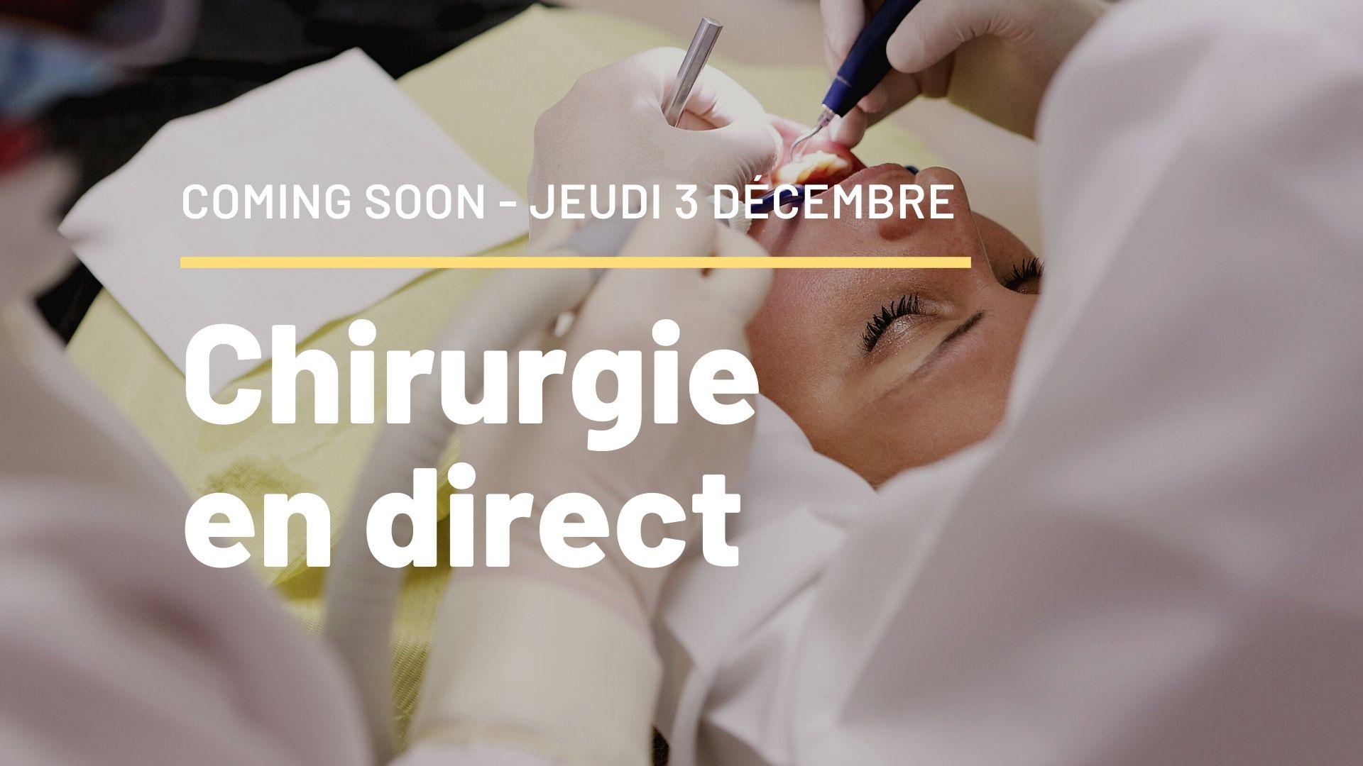 Chirurgie en direct