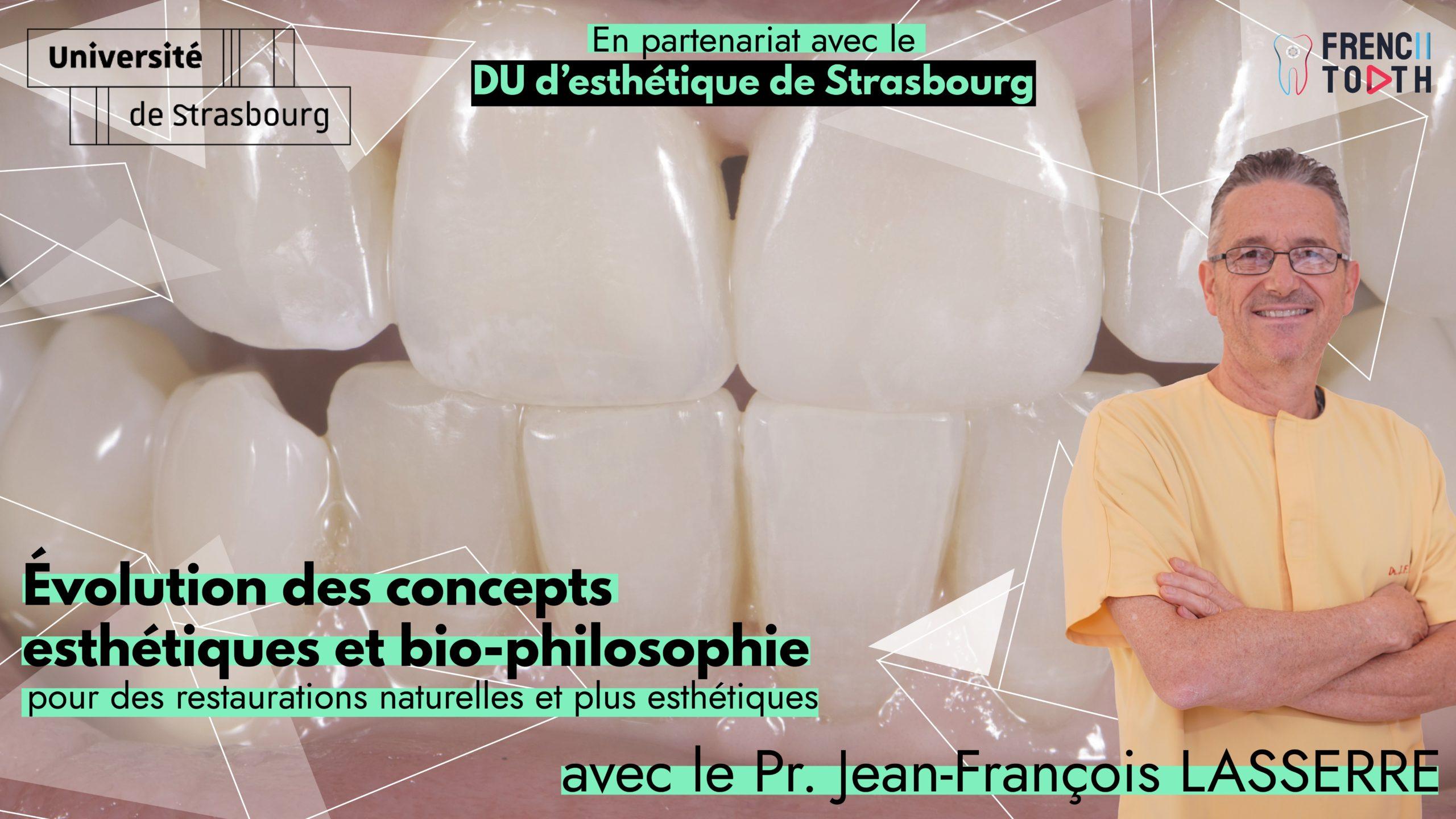 Evolution des concepts esthétiques et bio-philosophie
