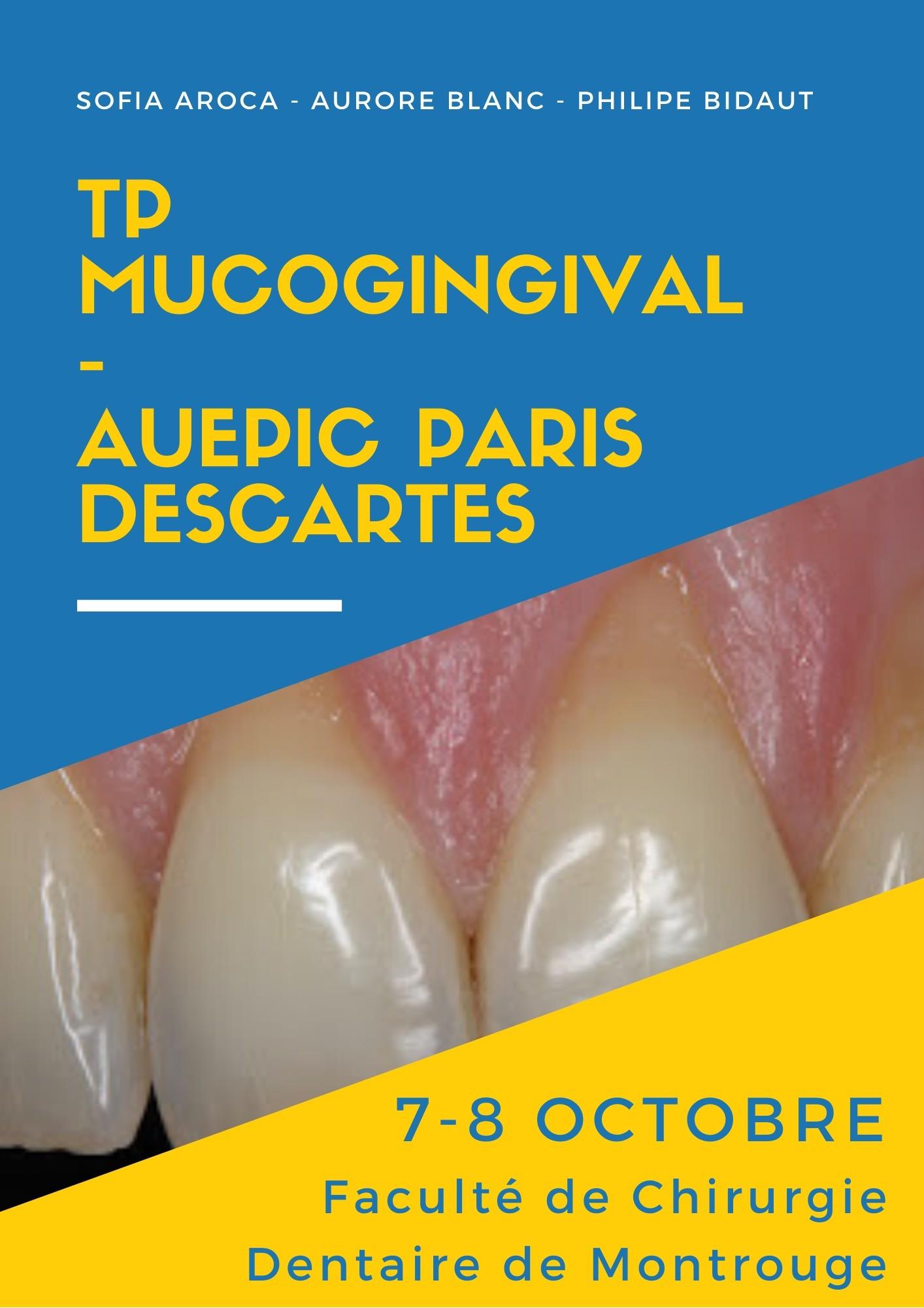 TP Mucogingival – AUEPIC Paris Descartes